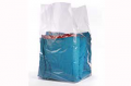 large gusseted poly bag great for use as a liner